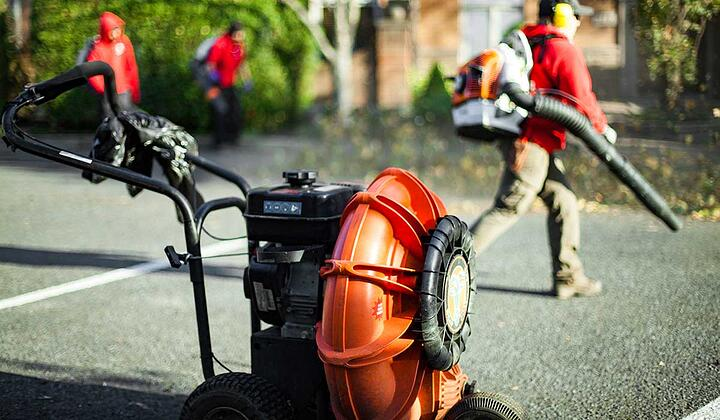 Scale Up Your Asphalt Maintenance Business - Wheeled Blower