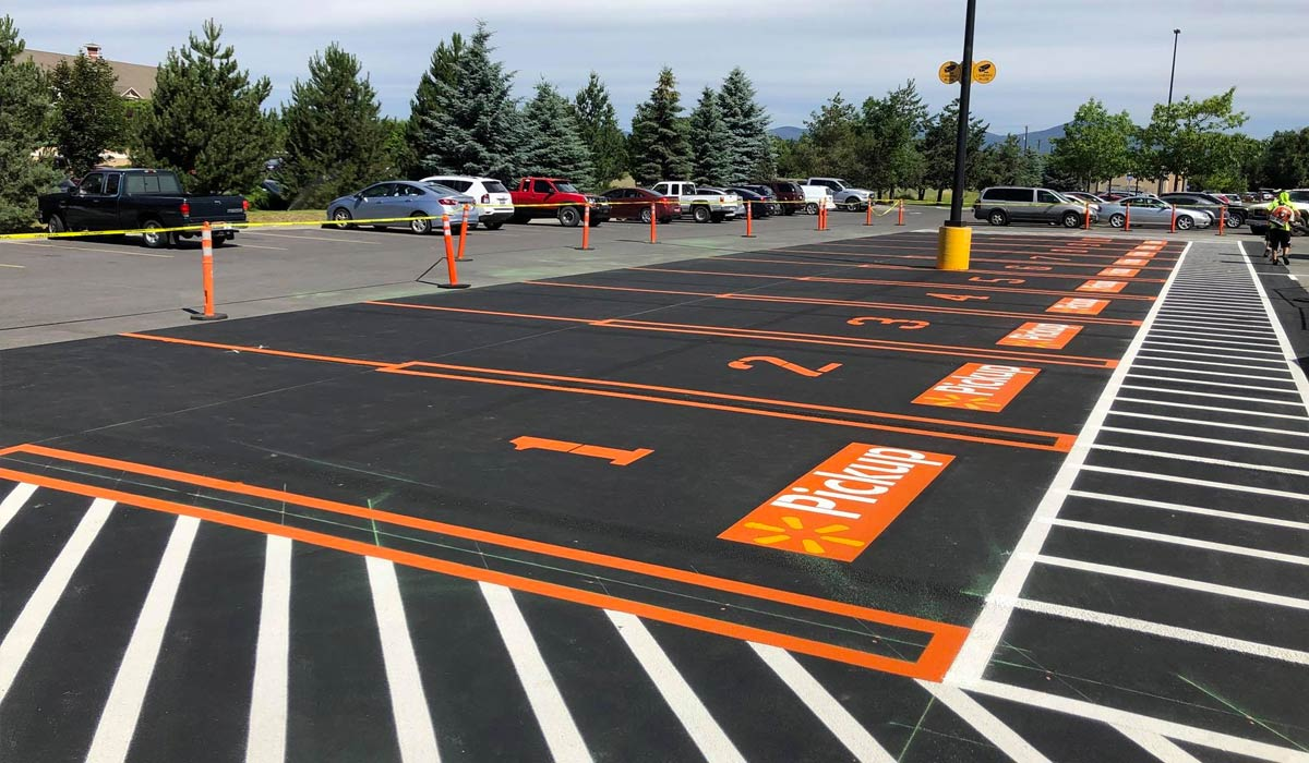 What to Consider When You Paint Parking Lot Areas