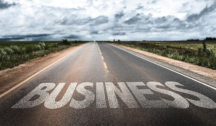 Business on rural road