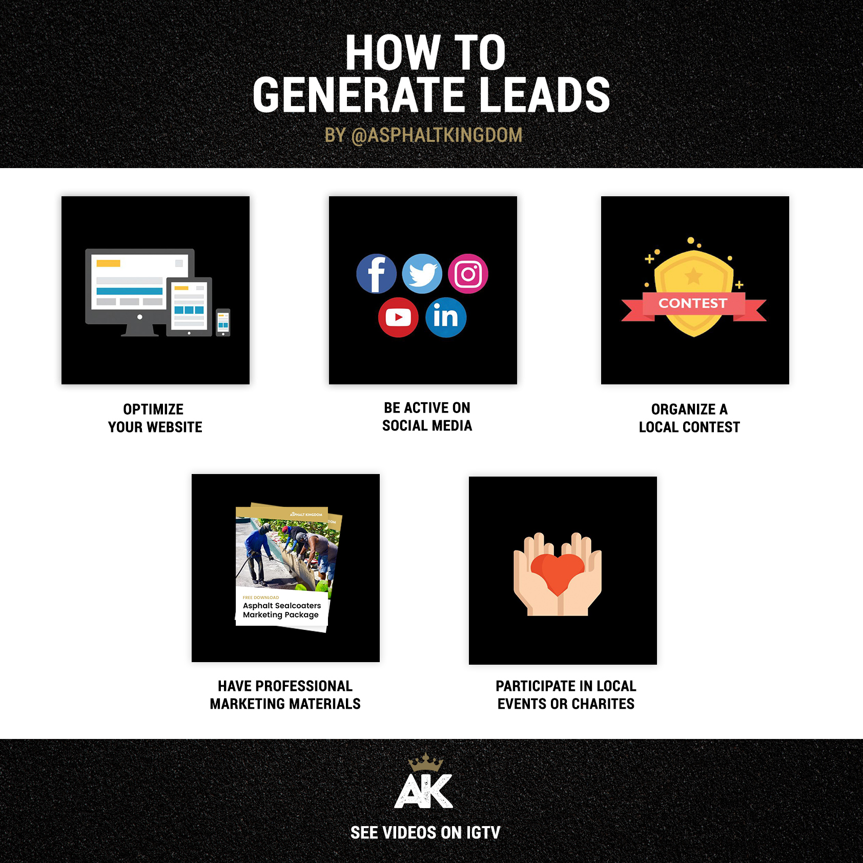How To Generate Asphalt Leads