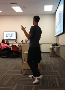 Speaking at the University of Utah's MBA Class