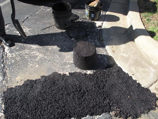 Winter Asphalt Maintenance