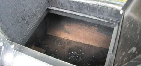 Asphalt Sealer in an Sealcoating Tank