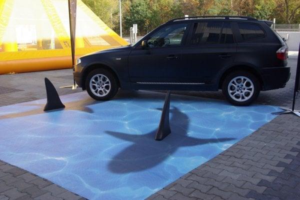 No Parking Sharks
