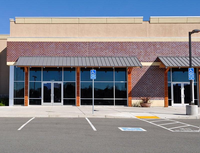 Accessible Handicap Parking Location