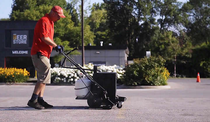 Crack Carts for your Asphalt Maintenance Crack Filling