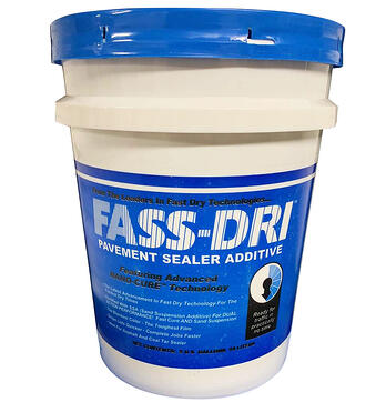 Fass Dry: How long to stay off the driveway after sealcoating