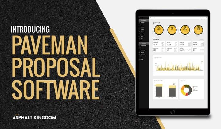 Paveman Proposal Software