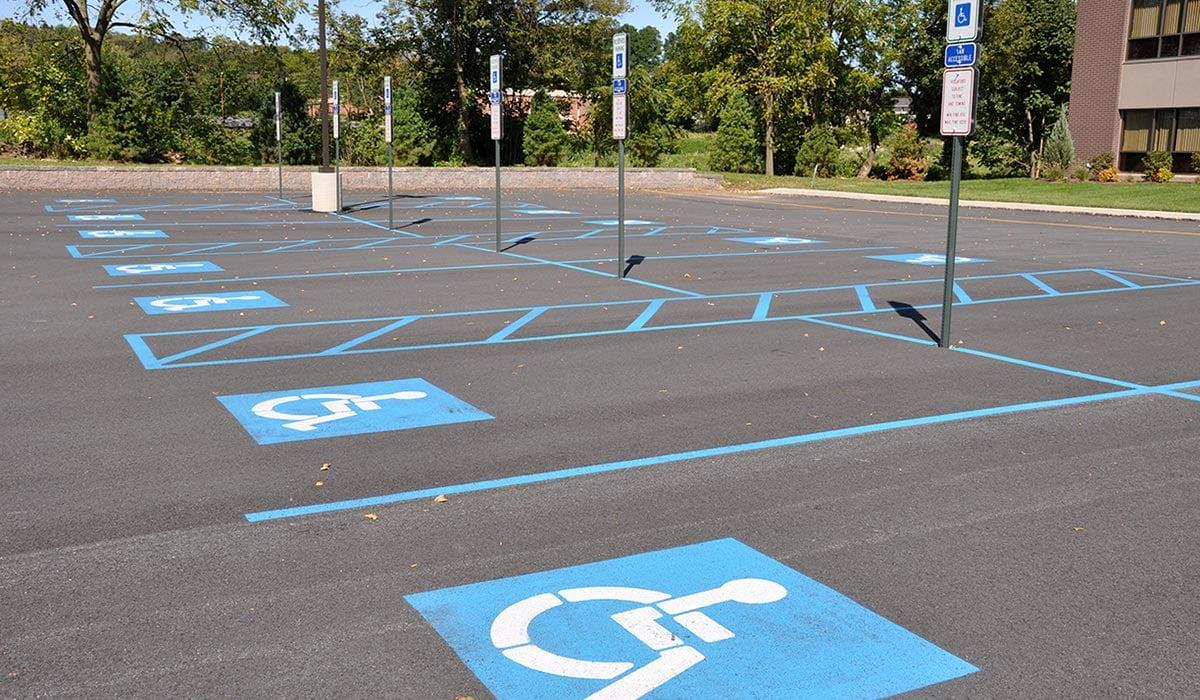 ADA Handicap Parking Requirements