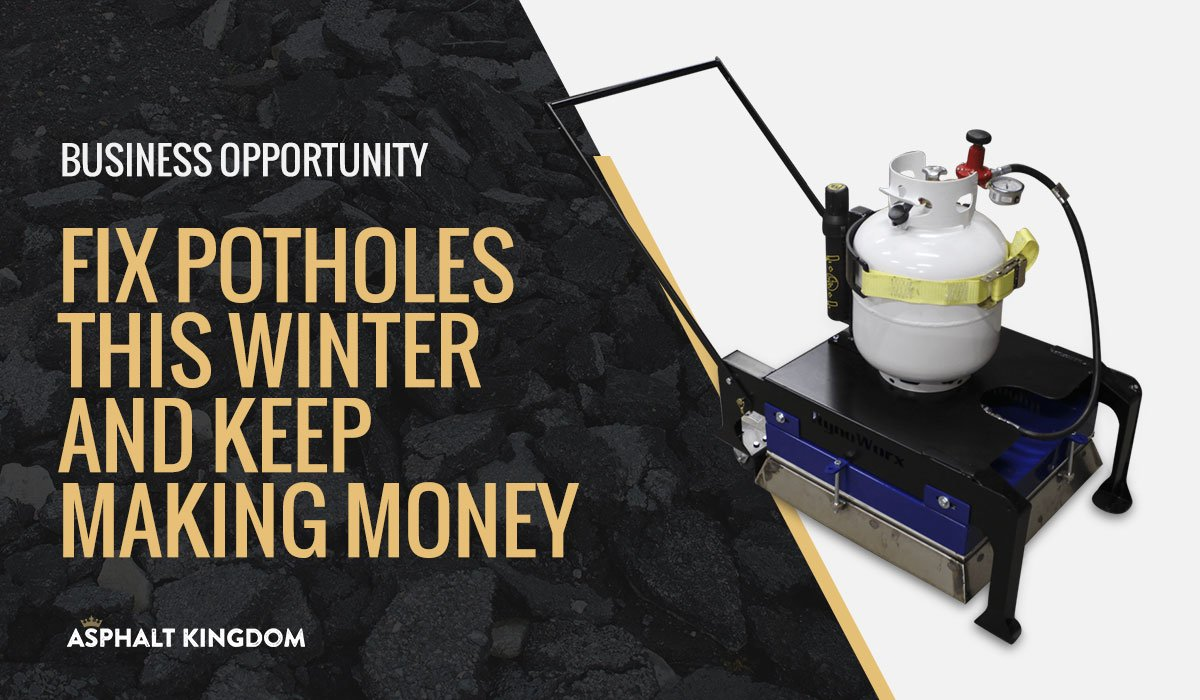 Make Money All Winter Long Doing Urgent Pothole Repair