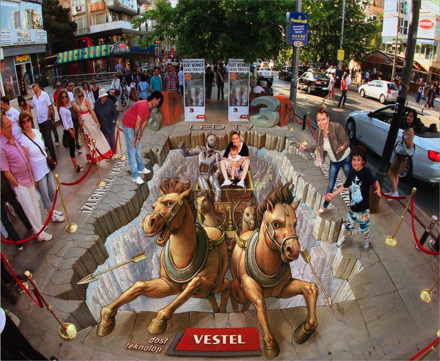 Wenner 3D Street Art