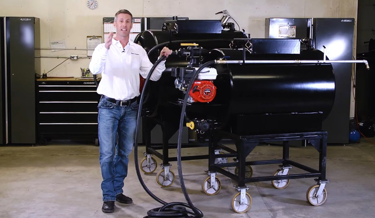 Invest in Professional Turnkey Pavement Sealcoat Sprayers