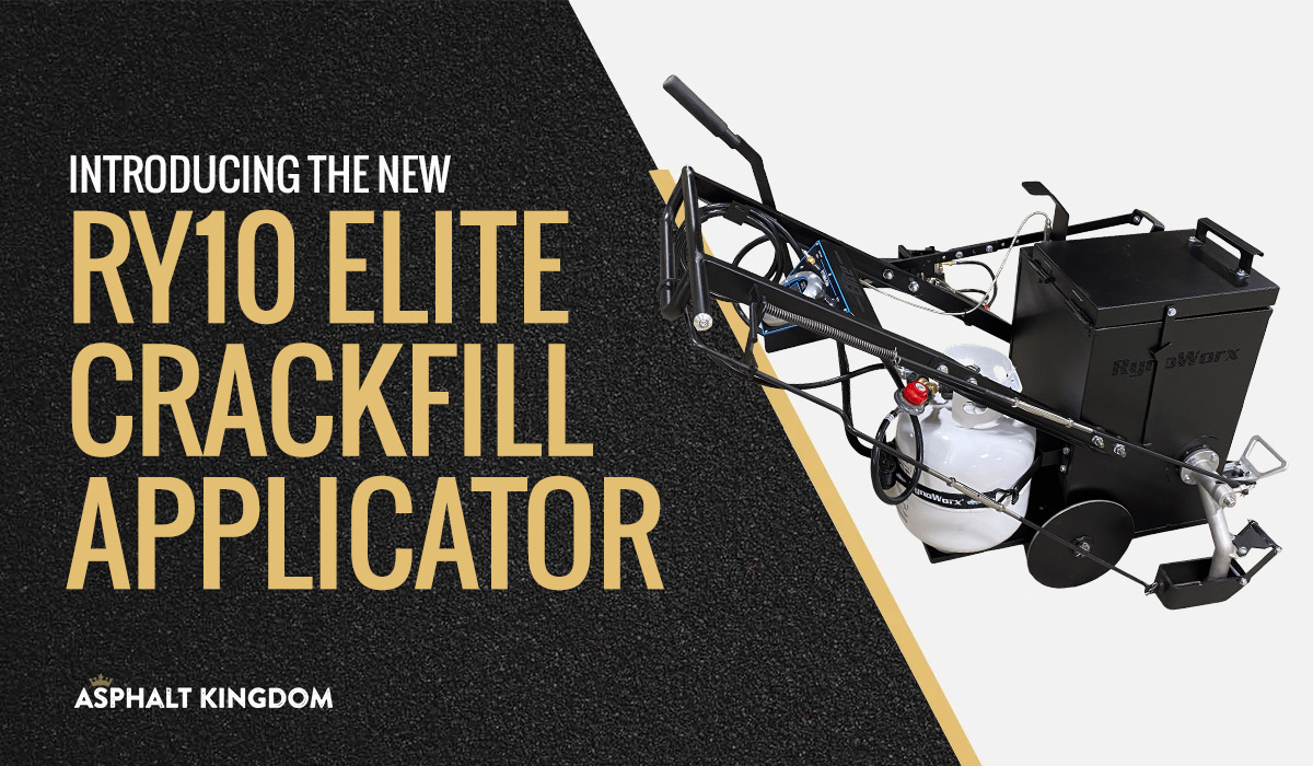 RY10 Elite: Setting the Bar High for Crackfill Machinery